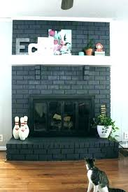 painted fireplace ideas painting stone images stacked white