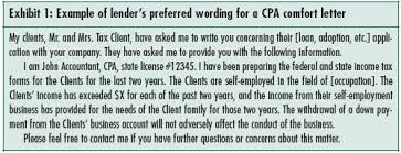 Concerns About Cpa Letters To Third Parties