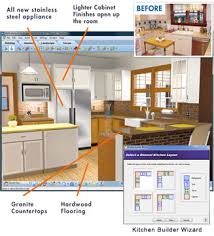 ... Virtual Architect's kitchen design software makes it easy.  kitchen_img1.jpg