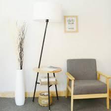 floor lighting 1. Jessie 64.96\u2033 Wood End Table Floor Lamp Lighting 1