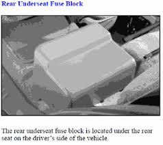 2003 gmc envoy rear fuse box diagram 2003 image solved where are located the rear underseat fuse block on fixya on 2003 gmc envoy rear