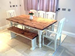 Rustic kitchen table with bench Expandable Rustic Round Farmhouse Table Rustic Kitchen Table With Benches Farmhouse Table With Bench Rustic Kitchen Table Naplopoinfo Rustic Round Farmhouse Table Farm Table Coffee Table Medium Size Of