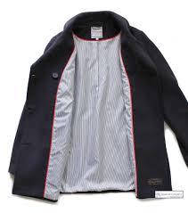 women s breton pea coat jacket