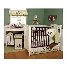 woodland creatures crib bedding outstanding willow organic deer 6 piece set baby sets animals