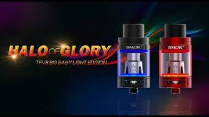 Tfv8 Big Baby Tank Light Edition Smok Tfv8 Big Baby Light Edition Sub Ohm Tank Halo Of Glory Slideshow