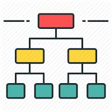 Family Tree Hierarchy Chart Big Data Analytics Volume 1 By Flat Icons Com