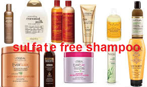 sulfate free hair care