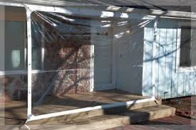 tarp 24 mil clear vinyl patio enclosure