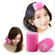 top sale 3 pieces pink foam hairdressing curlers women hair rolling tool