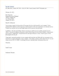 cover letter sample cover letter for customer service position cover letter cover letter for it sample cover customer service representative examplesample cover letter for customer