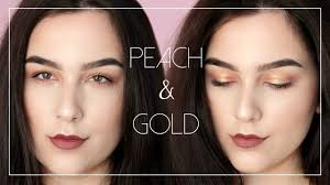 go to everyday makeup for small hooded eyes 2016 peach gold lids mauve lips you