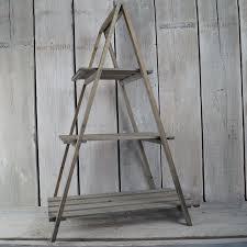 Wooden Ladder Display Stand Wooden plant stand Garden Pinterest Wooden plant stands 35