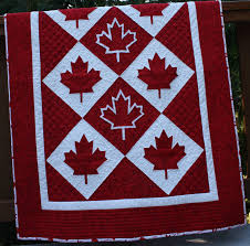 Red & White Maple Leaf Quilts | Neighbours in the Hood & This ... Adamdwight.com