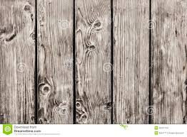 Old Pine Wood Planks Fence With Knots Detail Stock Photo Image