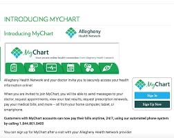 Allegheny Health Network My Chart App Www Mychart Ahn Org Allegheny Health Mychart Login