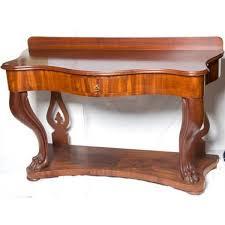 mahogany hall table. mahogany hall table c1880