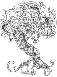 Small Picture tree coloring page 12 Vrityskirja Pinterest Adult coloring