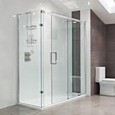 image of famous sliding shower doors