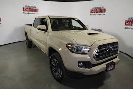 New 2017 Toyota Tacoma TRD Sport Double Cab Pickup in Escondido ...