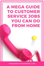 Get Customer Service Jobs Customer Service Jobs From Home The Ultimate Guide