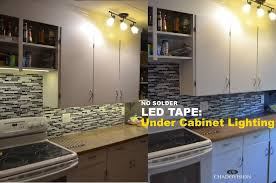 Led cupboard lighting Bar Picture Of Led Tape Under Cabinet Lighting No Soldering Instructables Led Tape Under Cabinet Lighting No Soldering Steps with