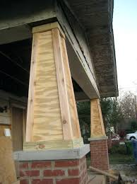 porch column wraps. Front Porch Column Wraps Cedar Post . Wrap
