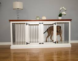 Cozy K-9 Double Wide Large Credenza Pet Crate