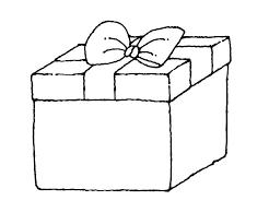 Gift Tag Coloring Page Gift Coloring Universidadcardone Co