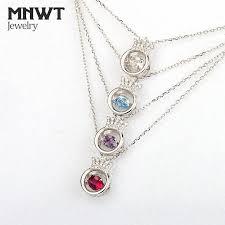 mnwt charm necklace dancing heart elegant princess crown pendant necklaces inlaid zircon silver necklace women wedding jewelry charm necklace inlaid zircon