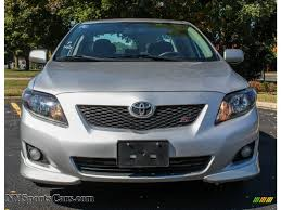 2010 Toyota Corolla S in Classic Silver Metallic photo #2 - 275683 ...