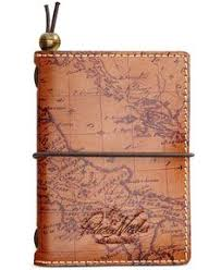 keep your thoughts and day in stylish order with patricia nash s luxe leather agenda featuring a signature map design on the outside and smart calendars