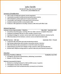 10 Relevant Experience Resume Letter Of Apeal