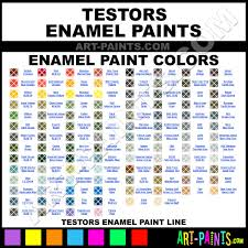Abundant Testors Enamel Paint Chart Model Master Paints