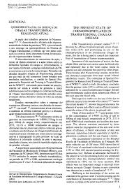 (PDF) The present state of chemoprophylaxis in transfusional ...