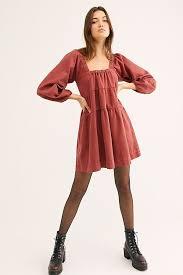 Lou Jean Babydoll Dress   Denim mini dress, Clothes, Babydoll dress