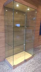 glass display cabinet stunning for small home remodel ideas with box ikea glass display cabinet case