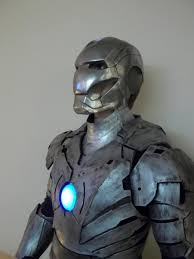 unpainted iron man armor source