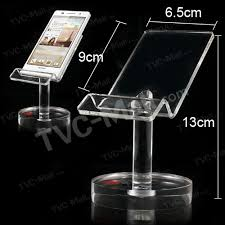 Acrylic Cell Phone Display Stands Fascinating Huawei Cell Phone Clear Acrylic Round Bottom Base Display Stand