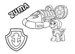 Chase Paw Patrol Coloring Page Listalandco