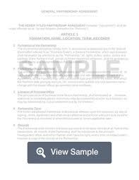 Formation the undersigned hereby form a general. Free Partnership Agreement Template And Sample Formswift