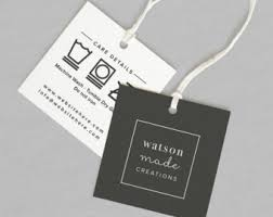 Custom Hang Tags Clothing Tag Swing Tag Printed With Etsy
