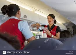 flight attendants air stewardess stock photos flight attendants city flight attendants serve drinks on an aero connect flight to oaxaca