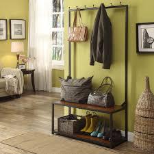 Inroom Designs Coat Hanger And Shoe Rack Looking for InRoom Designs Coat Hanger Shoe Hall Tree M100 low 43