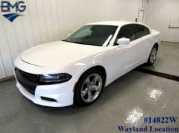 dodge charger 2015 white. Unique Charger Used 2015 Dodge Charger SXT RWD For Sale In Caledonia MI To White