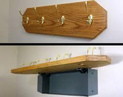 Hidden Gun Coat Rack Concealed furniture Etsy 14