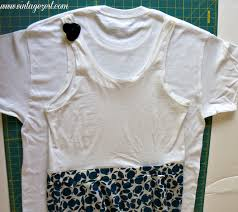 Diy Upcycled Clothing How To Diy A Dress Upcycled From Oversized T Shirts Dianes