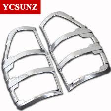 2017 suitable ford ranger 2016 new pickup accessories abs chrome tail lights covers for ford ranger
