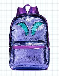 Siwa Mary Reversible Sequins Backpack