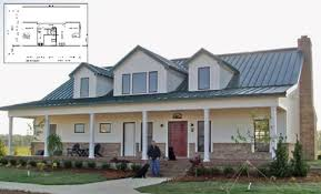 great steel building cottage house plans