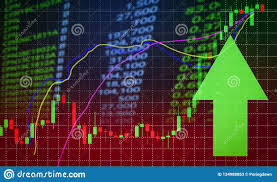How To Analyse Forex Charts Success Stock Market Price Green Arrow Up Profits Growth